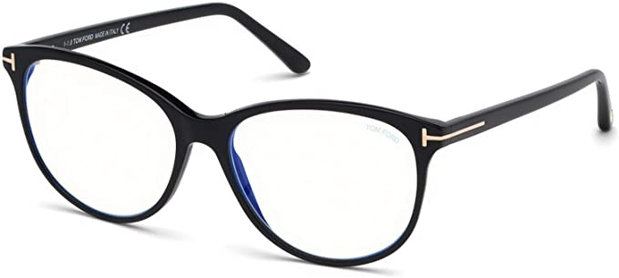 enorme sconto 1f1f3 e2969 Eyeglasses Tom Ford FT 5544 -B 001 shiny black at Amazon ...