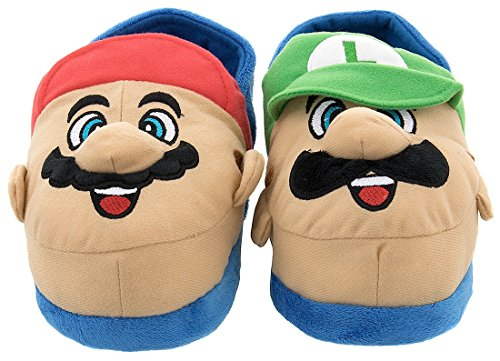 Image of A Customer Favorite: Super Mario Slippers for Boys and Toddlers