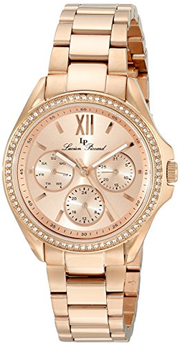 Lucien Piccard Women's LP-10052-RG-99 Eclipse Rose Gold-Tone Stainless Steel Watch