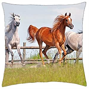 Three beauties - Throw Pillow Cover Case (18
