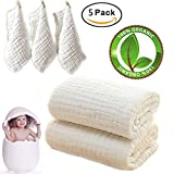 Baby Bath Towels and Washcloths Set Also...