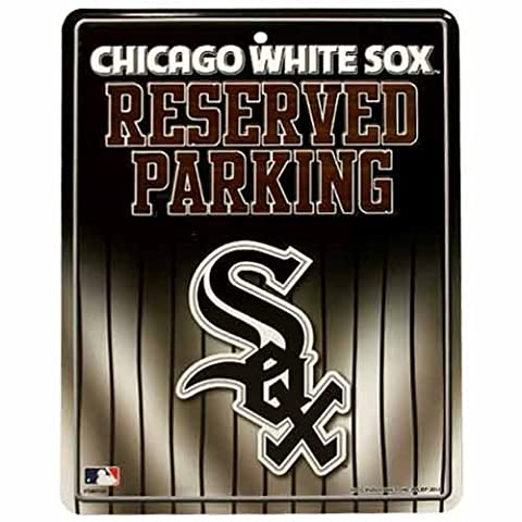 MLB Chicago White Sox Parking Sign - Sox Metal