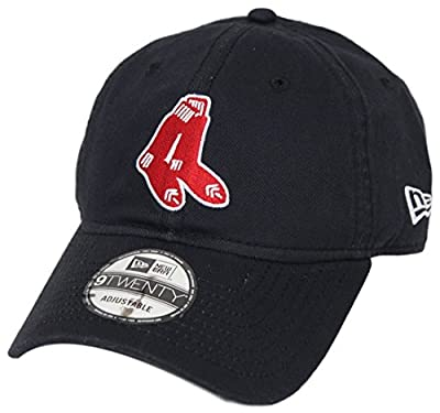 Boston Red Sox New Era MLB 9Twenty Cooperstown Adjustable Hat -2 Sox by New Era