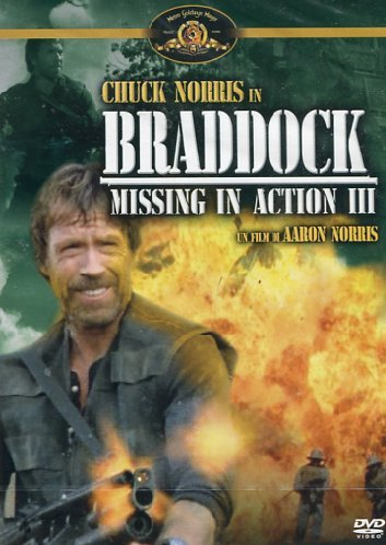 Braddock   Missing In Action 3: Amazon.co.uk: Aki Aleong, Chuck Norris,  Jack Rader, Aaron Norris: DVD U0026 Blu Ray  Missing In Action Poster