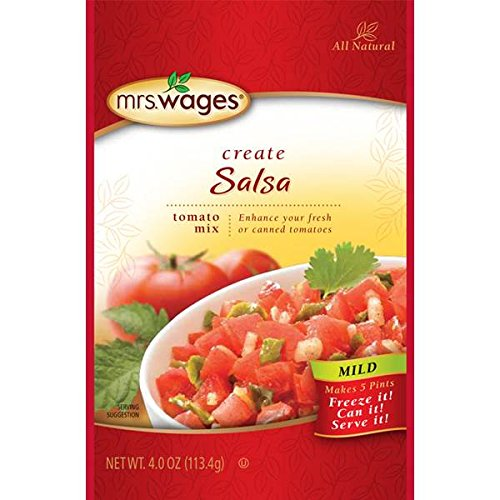 Mrs. Wages Mild Salsa Mix 4oz( 3 Pack ) by Mrs. Wages