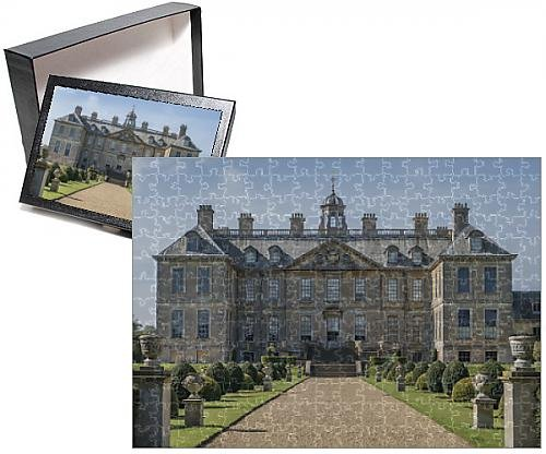 Grantham House (Photo Jigsaw Puzzle of Belton House, Grantham, Lincolnshire, England, United Kingdom, Europe)