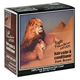 Light Mountain Natural Hair Color & Conditioner, Dark Brown, 4 oz (113 g) (Pack of 3)