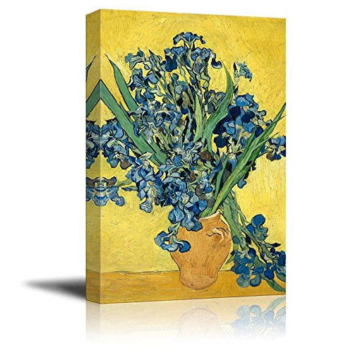 Irises by Vincent Van Gogh Print Famous Painting Reproduction