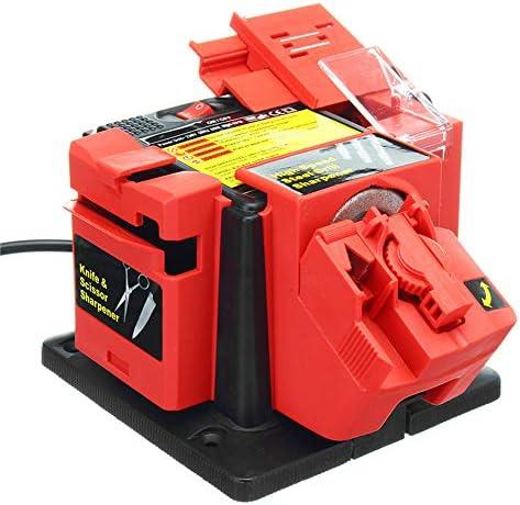 シャープナー電動家庭用ナイフ削り ドリルビット用多目的削り機ノミプレーナーブレードハサミナイフ電動工具