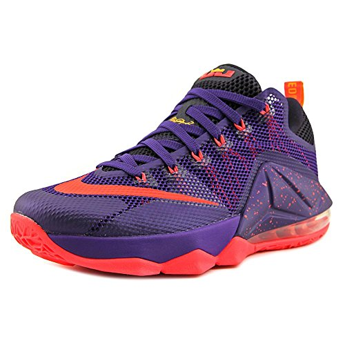 (NIKE Lebron XII Low Men US 9 Purple Basketball)