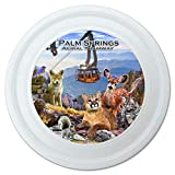 GRAPHICS & MORE Palm Springs Aerial Tramway California CA Animals Cougar Deer Bobcat Novelty 9' Flying Disc