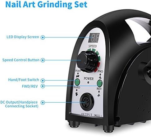 35000rmp motor Electric Glazing Machine Nail Polishing Machine for Nail Polishing Tooth Grinding and Jade Carving