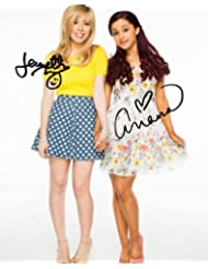 Sam & Cat duo reprint signed photo #1 RP Jennette McCurdy Ariana Grande