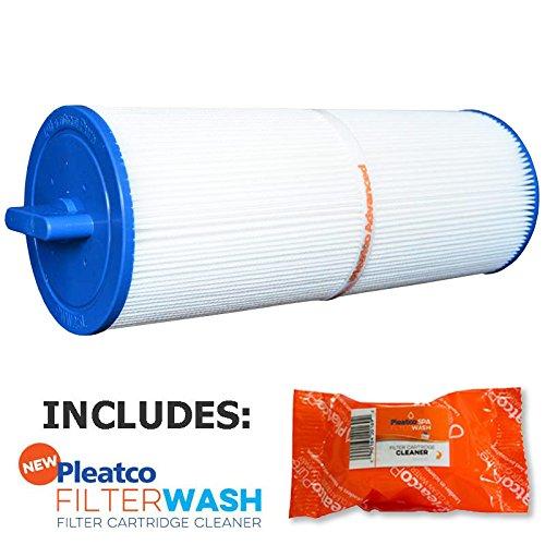 Pleatco Cartridge Filter PWW25L Waterway Plastics Teleweir 25 SF Gulf Coast Spas w/ 1x Filter Wash (Coast Gulf Spas)