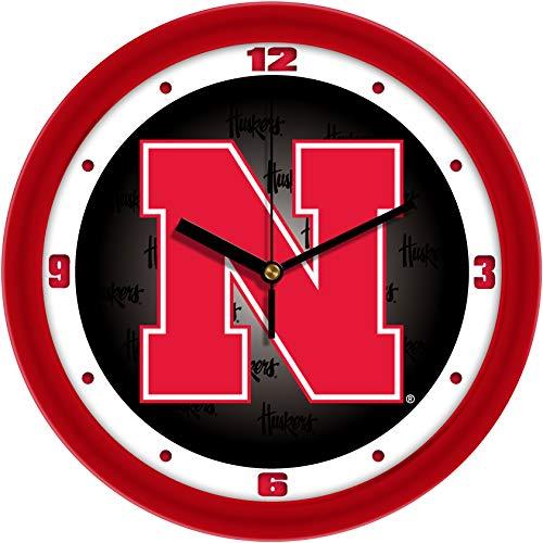 SunTime Nebraska Cornhuskers - Dimension Wall Clock