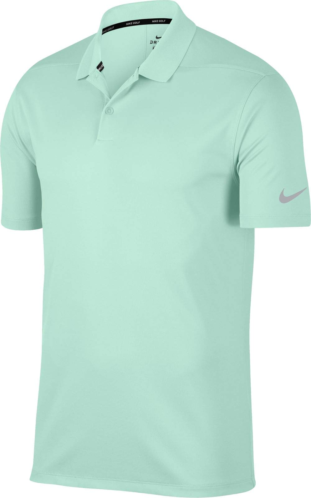 NIKE Men's Dry Victory Solid Golf Polo (Igloo/Flight Silver, Small)