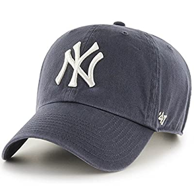 '47 Brand MLB NY Yankees Clean up Cap - Vintage Navy by 47 Brand