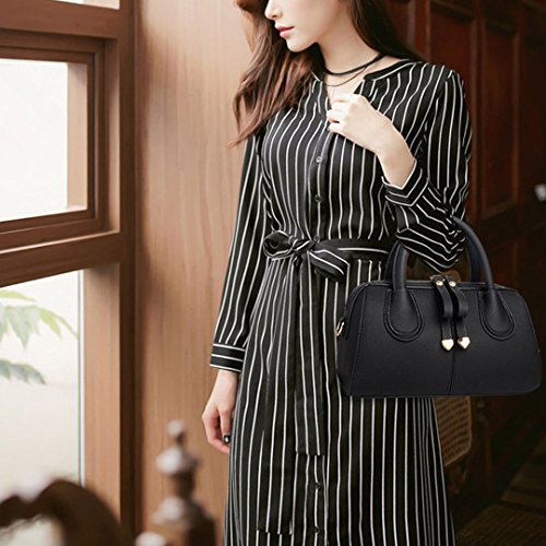 body handle Top Small Lichee Women Monique Satchel Cross Black Tote Beach 995 Pattern Bag Bag Handbag cWqFWPC