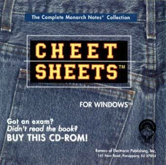 Cheet Sheets - The Complete Monarch Notes Collection for Windows 511hwcjWimL