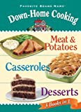Down-Home Cooking 3 Books In 1, Editors of Publications International Ltd., 145080781X