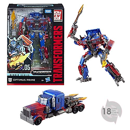 05 Toy - Transformers E0738ES0 Studio Series 05 Voyager Class Movie 2 Optimus Prime Figure