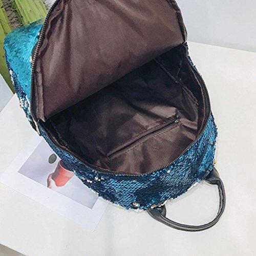 Paillettes Satchel Noir Dos Fashion BandoulièRe ❤️Sac Rose Violet Bleu Chaud Femme❤️Lolittas éTudiant D'éCole Rose Bleu Voyage Girl Or à 6xvpHRqw