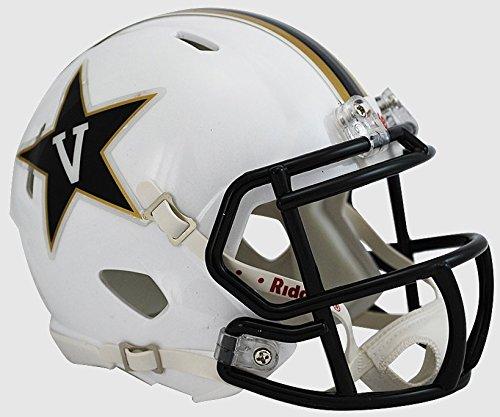 NCAA Vanderbilt Commodores White Speed Mini Helmet