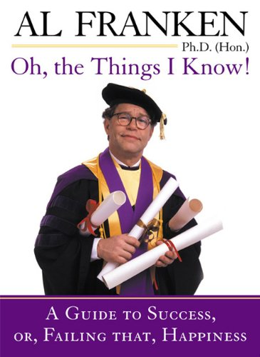 Oh, the Things I Know! cover
