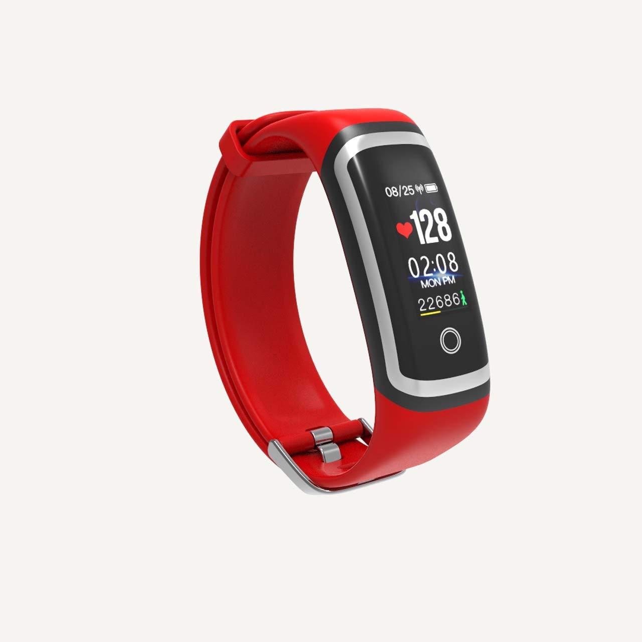 CYHY Rastreador de actividad, pantalla táctil de 0,96 pulgadas Pantalla a color Frecuencia cardíaca Monitoreo de la presión arterial Deportes IP67 a prueba de agua Pulsera inteligente Standby larga or