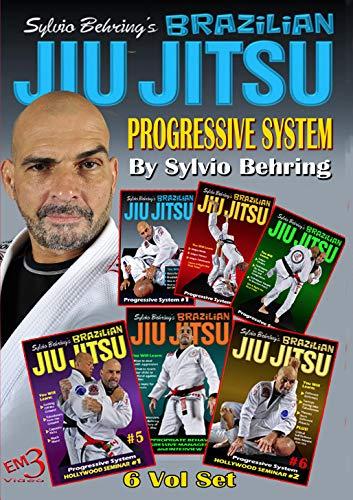 Sylvio Behring Brazilian Jiu Jitsu Progressive System 6 DVD Volume Set