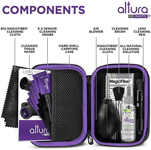 Altura Photo Professional Cleaning Kit Full Frame DSLR Cameras Sensor Cleaning Swabs with Carry Case 511hyT  2BzGL