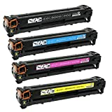 4Benefit Compatible non-OEM Replacement for 045 Toner Cartridges [High Yield] and MF634Cdw, MF632Cdw, LBP612Cdw Printers - 4 Pack