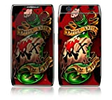 Motorola Droid Razr, Razr Maxx Decal Phone Skin Decorative Sticker w/ Matching Wallpaper - Bottle