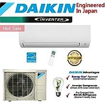 Daikin 24,000 BTU Ductless Mini Split Air Conditioner 2015 / High Efficiency / High Energy Saving / High Seer Inverter Air Conditioner Heating, Cooling, Dehumidification, Ventilation 2 TON