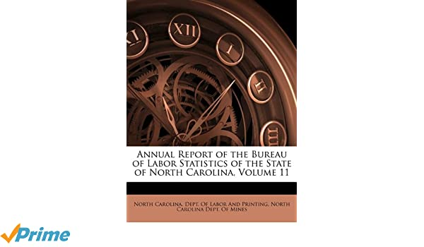 Annual report of the bureau of labor statistics of the state of