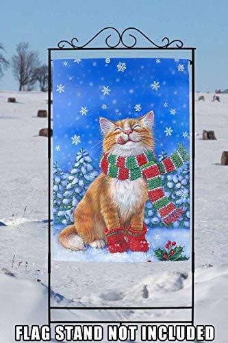Amazon.com: Bandera de Toland Home Garden gatito manoplas ...