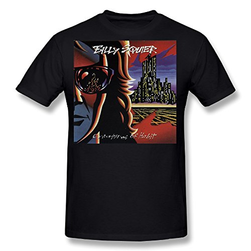 neloimagemen-billy-squier-creatures-of-habit-cover-design-size-xxl-tee-shirts