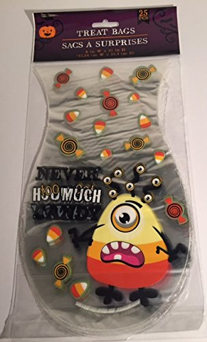 Candy Corn Costume Homemade (Never Too Much Candy Candy Corn Treat Bags 6in x 10in 25 Pieces)