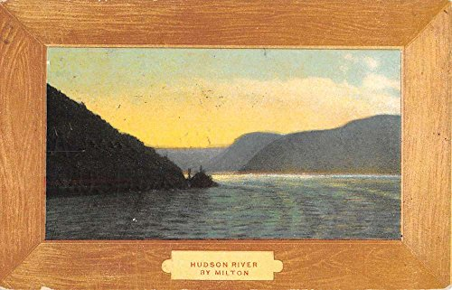 Milton New York Hudson River Waterfront Antique Postcard K88859
