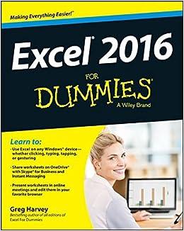 Excel 2016 For Dummies: Amazon co uk: Greg Harvey