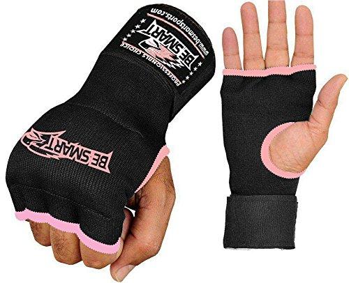 ジェルパッドインナー手ラップ手袋ボクシング拳包帯MMAゲルThai KickカーボンファイバーAero Gelパッド入りインナー手袋、6色 Medium ピンク ピンク Medium B01N9ECSQP, mofnof:a68f66d2 --- capela.dominiotemporario.com
