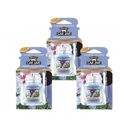 Yankee Candles Ultimate Car Jar - Pack of 3
