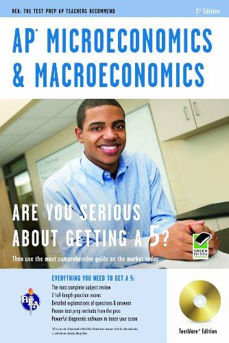 AP Microeconomics & Macroeconomics w/ CD-ROM (Advanced Placement (AP) Test Preparation)