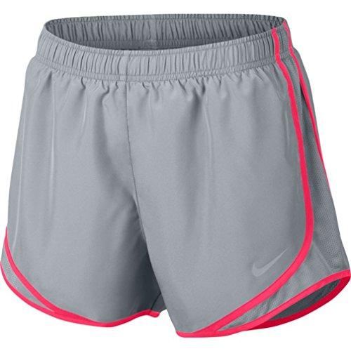 ntrast Trim Running Shorts Gray XS ()