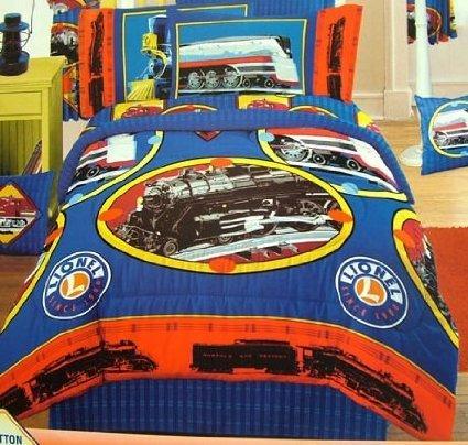 Dan River Lionel Trains Pillow - Dan Pillow River
