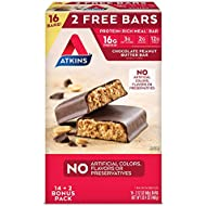 Atkins Protein-Rich Meal Bar, Chocolate Peanut Butter, 14 +