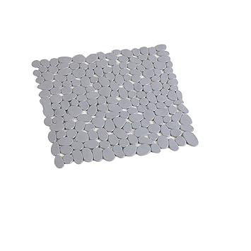 Design Badewanneneinlage Anti-Rutsch Grau Wannen Matte Antislip Einlage Bad