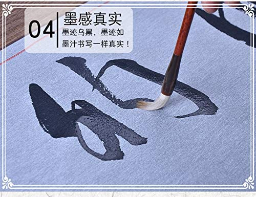 Tianjintang No Ink Needed Water Writing Magic Scroll for Practise Calligraphy Water Painting 38cmx120cm