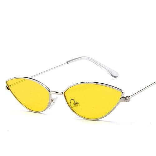 Wanlianer Gafas Unisex Classic Retro Espejo Redondo polarizado Gafas de Sol Gafas de Sol (Color : Amarillo): Amazon.es: Joyería