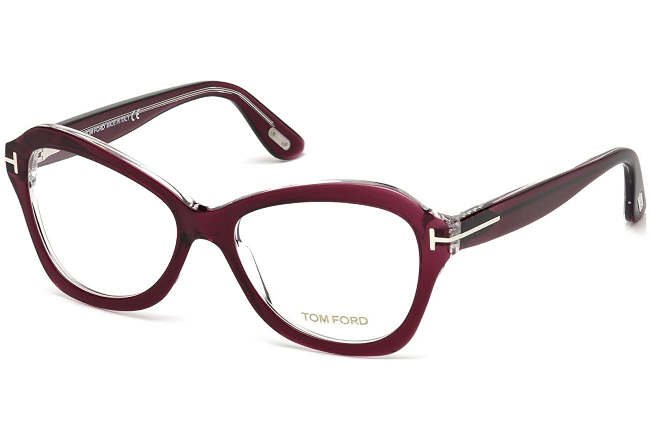 Tom Ford TF 5359 FT5359 071 Eyeglasses Bordeaux Other at Amazon Men s  Clothing store  862fc9a55f6e